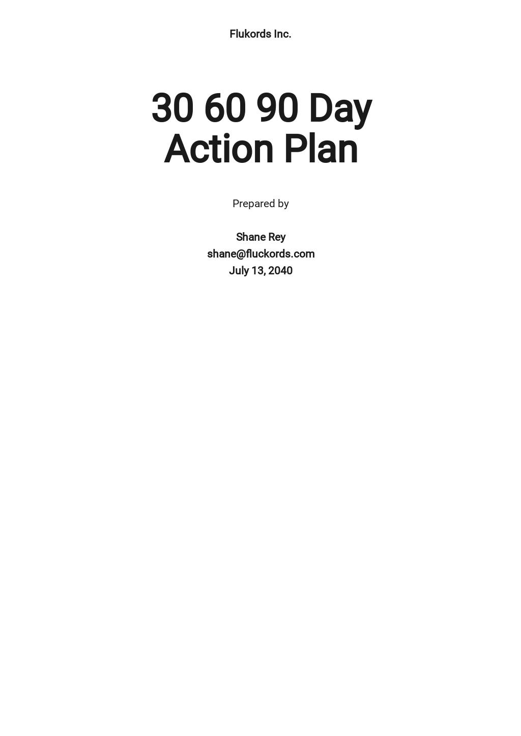 30 60 90 day Action Plan Sample.jpe