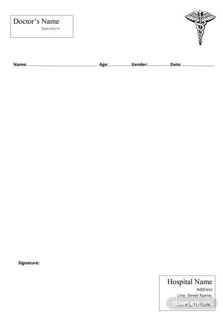 simple doctor note template  download 53  notes in word