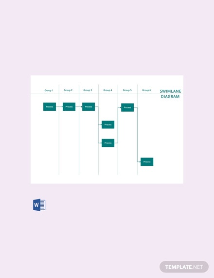 Swim Lane Diagram Free Download