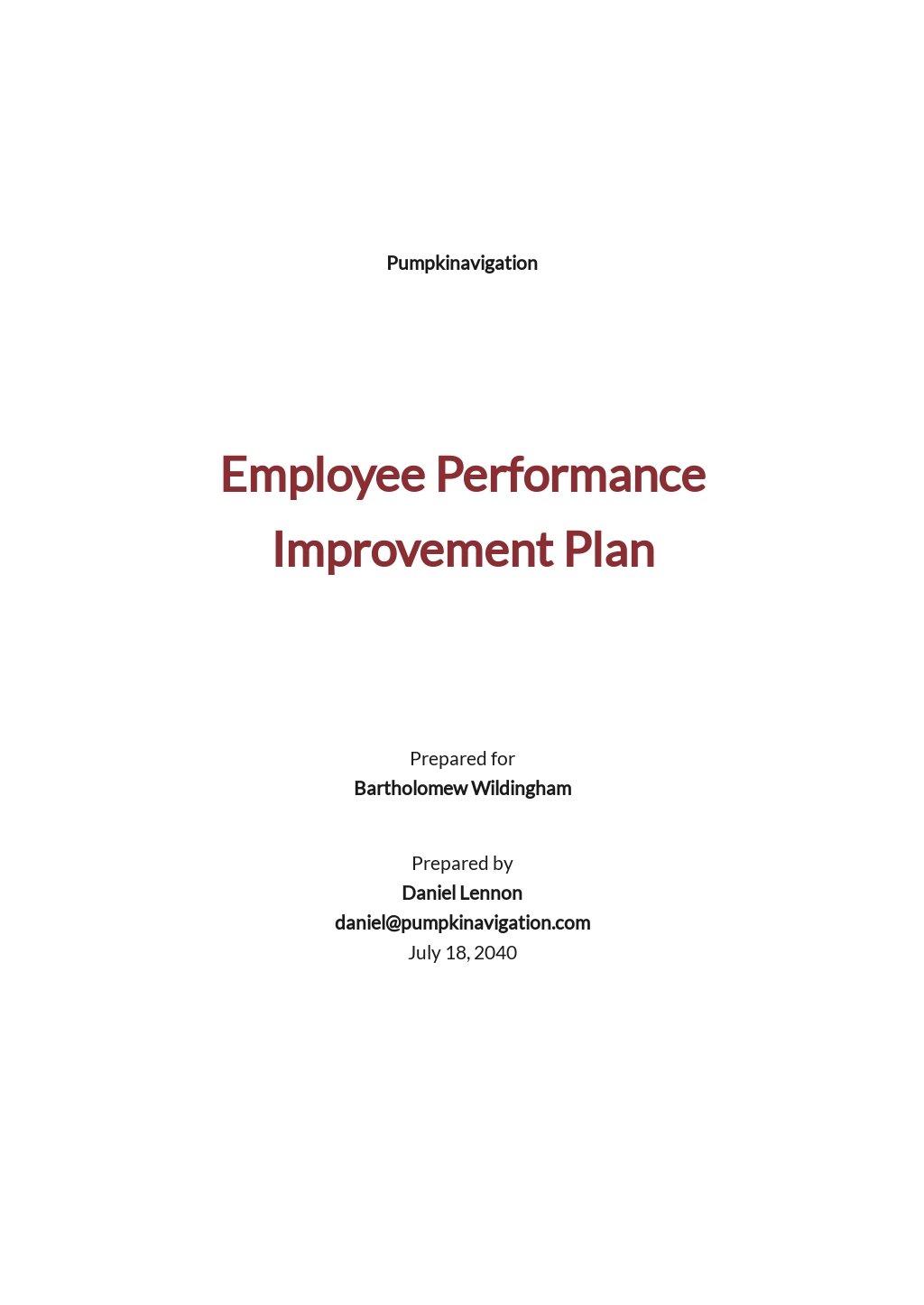 Employee Performance Improvement Plan Template.jpe