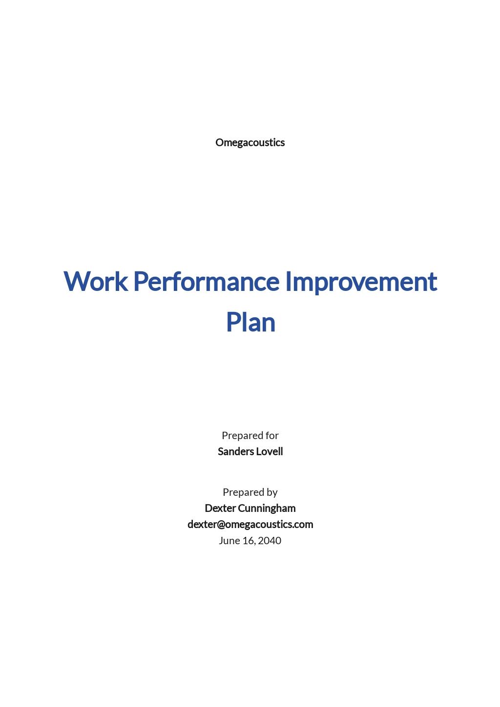 Work Performance Improvement Plan Template.jpe