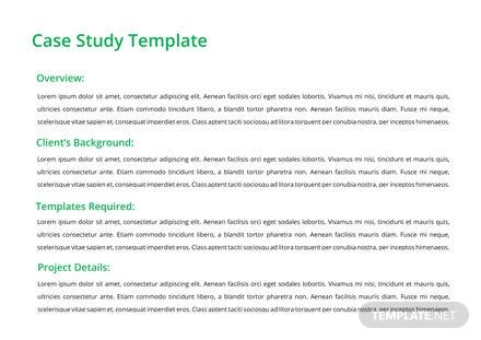 One page business case template in microsoft word template case study template free download wajeb Images