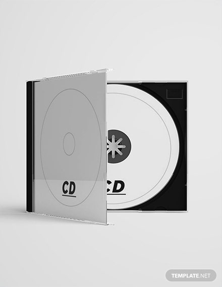Free CD Case Template