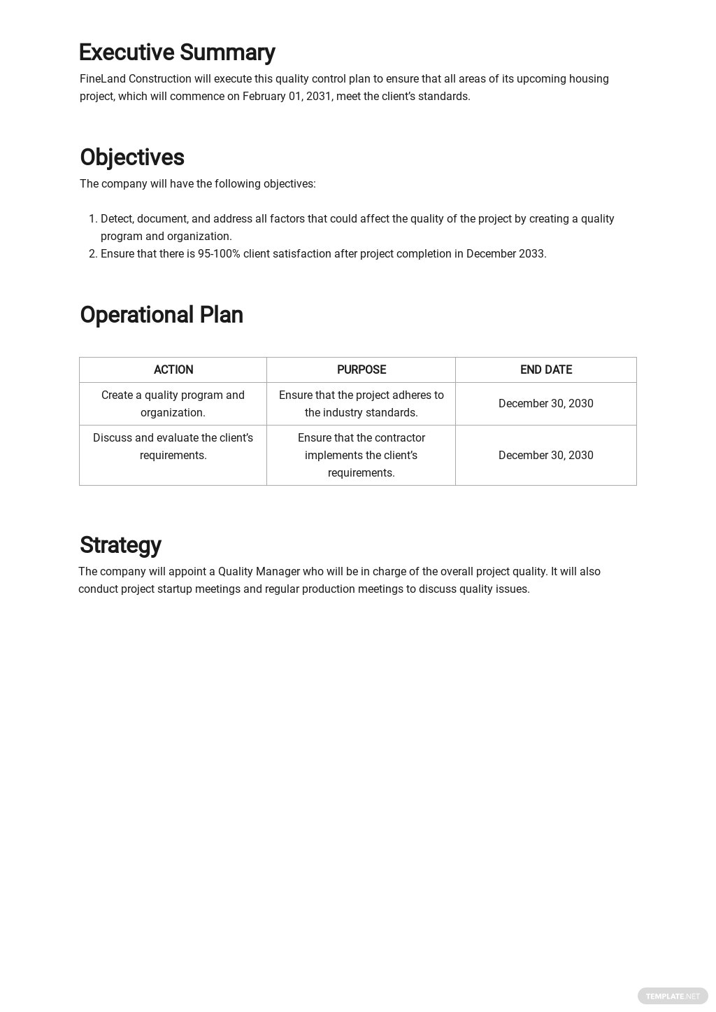 Free Construction Quality Control Plan Template 1.jpe
