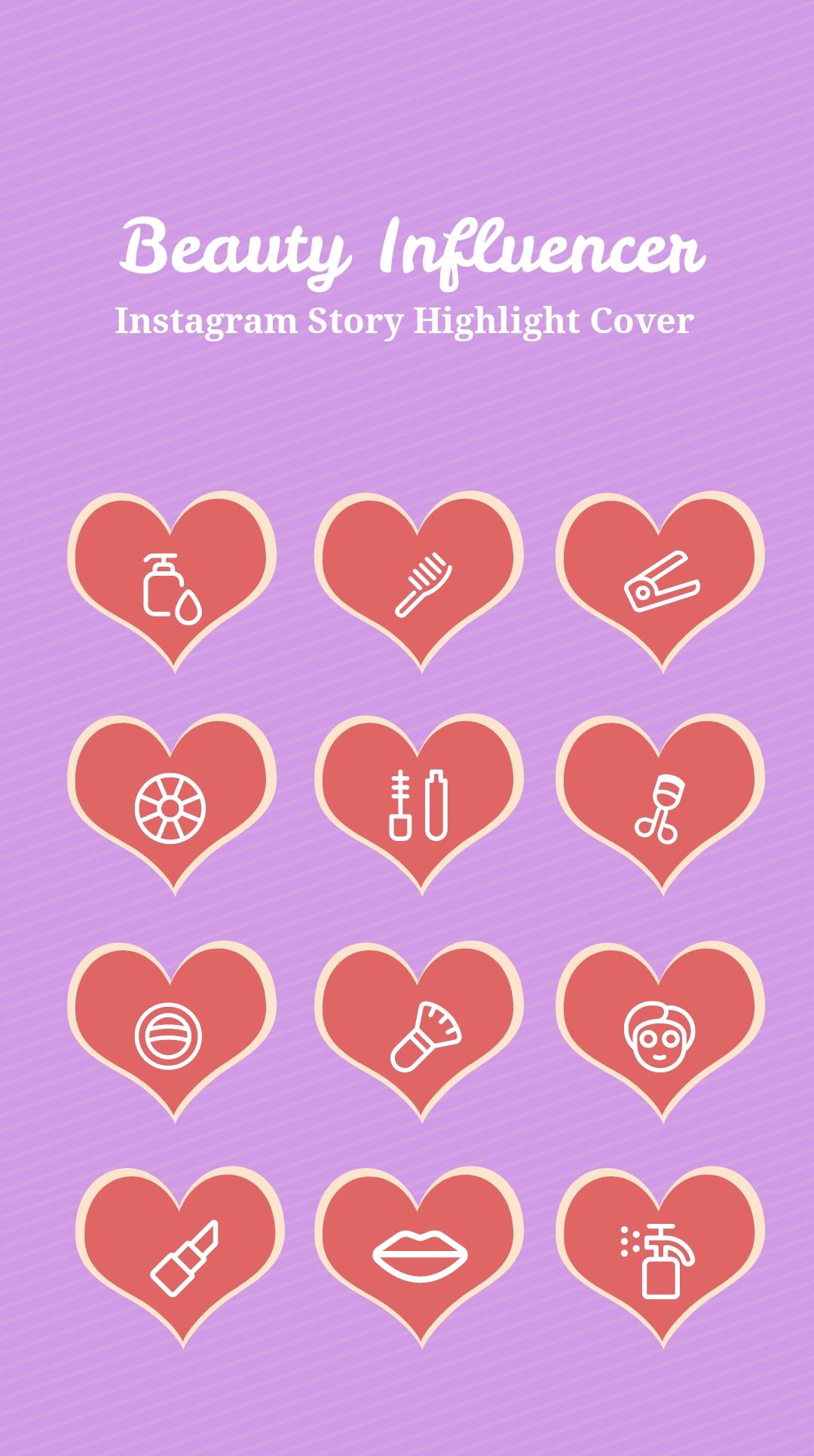 Beauty Influencer Instagram Story Highlight Cover.jpe
