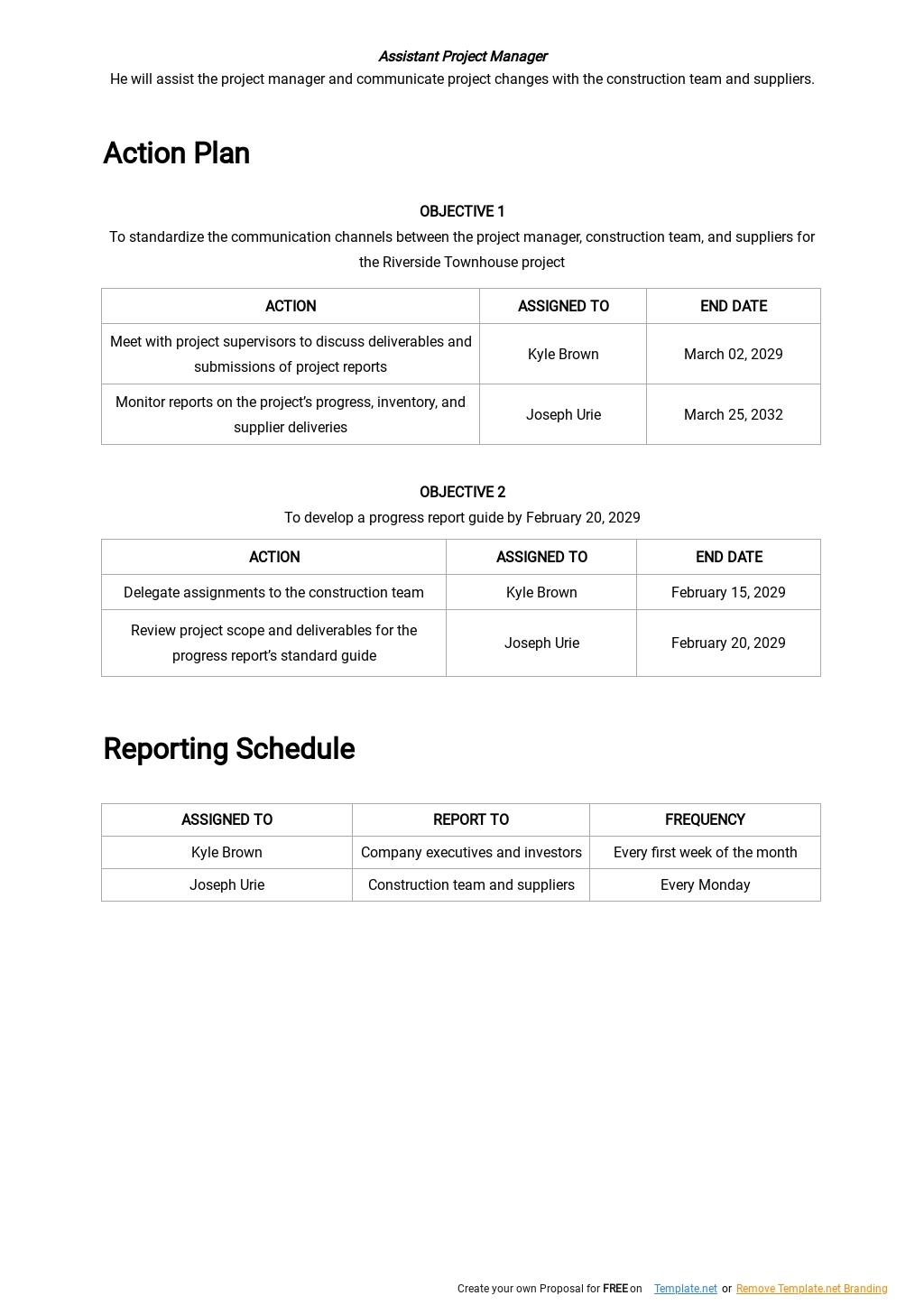 Project Communication Plan Template 2.jpe