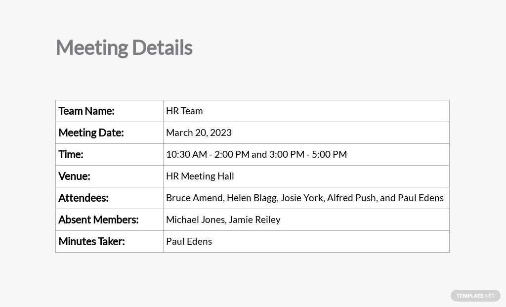 Free Multiple Meeting Minutes Template 1.jpe