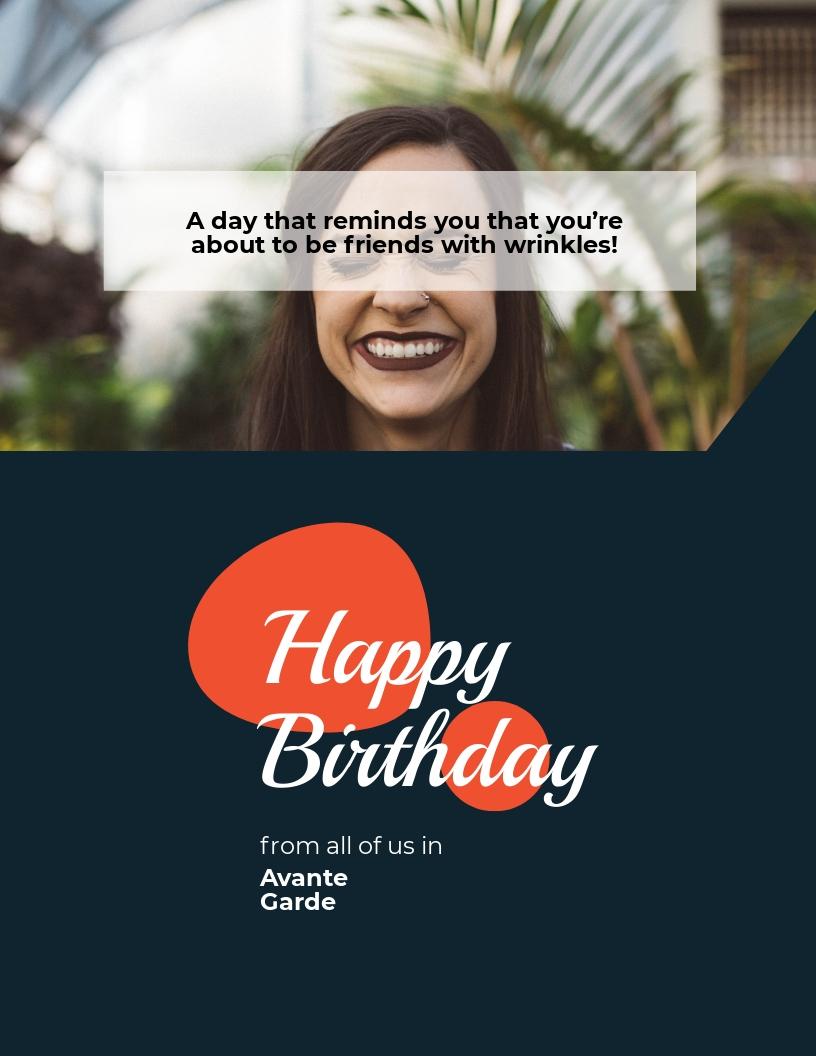 Funny Birthday Flyer Template.jpe
