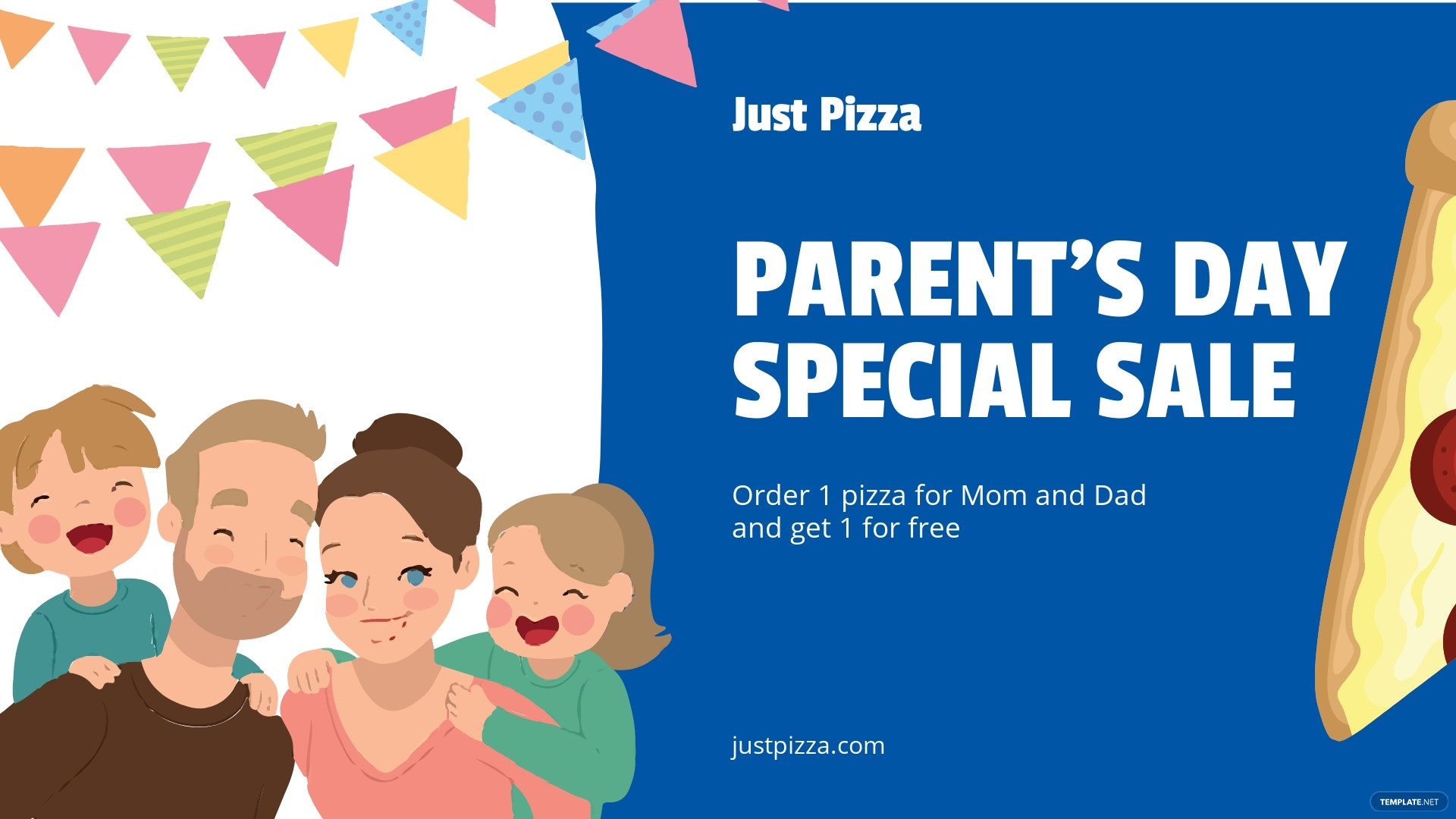Free Parent's Day Facebook Event cover