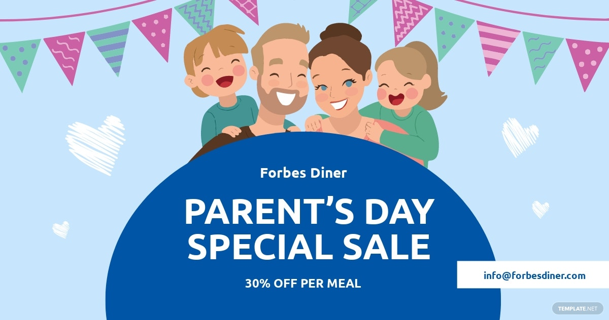 Parent's Day Facebook Post Template
