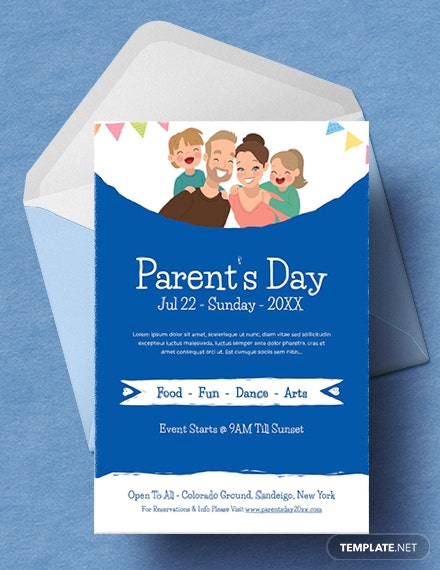 Free Parent's Day Invitation