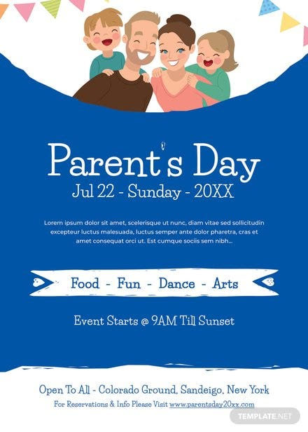Parent's Day Invitation