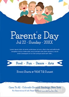 Parent's Day Invitation
