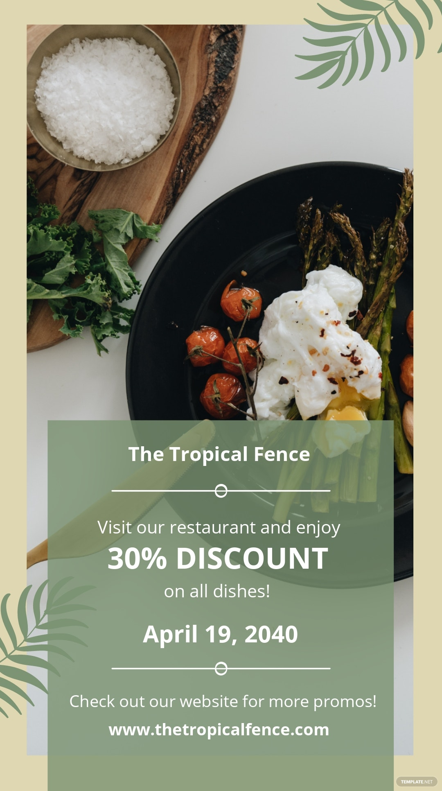 Restaurant Promotion Instagram Story