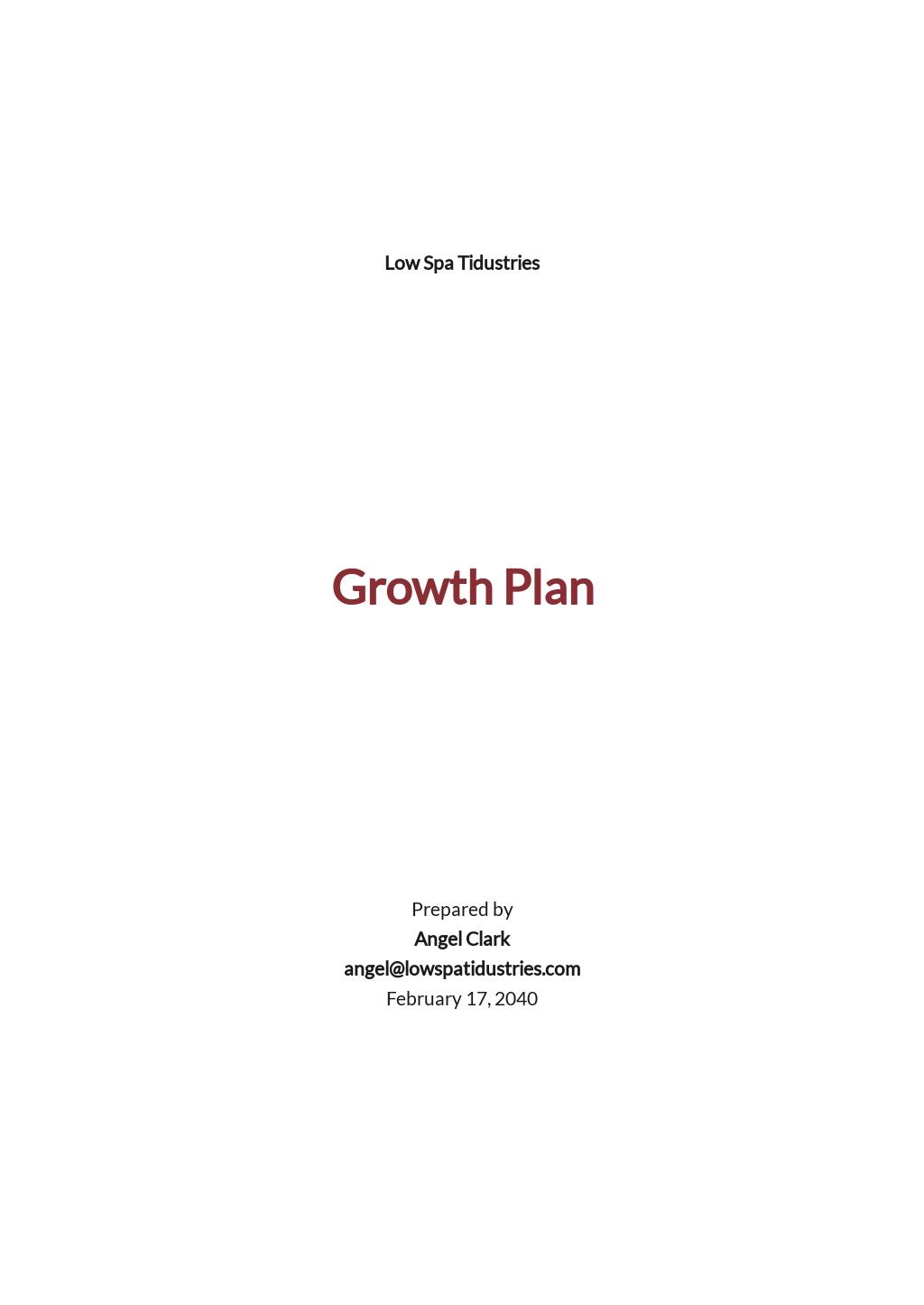 Free Growth Plan Template.jpe