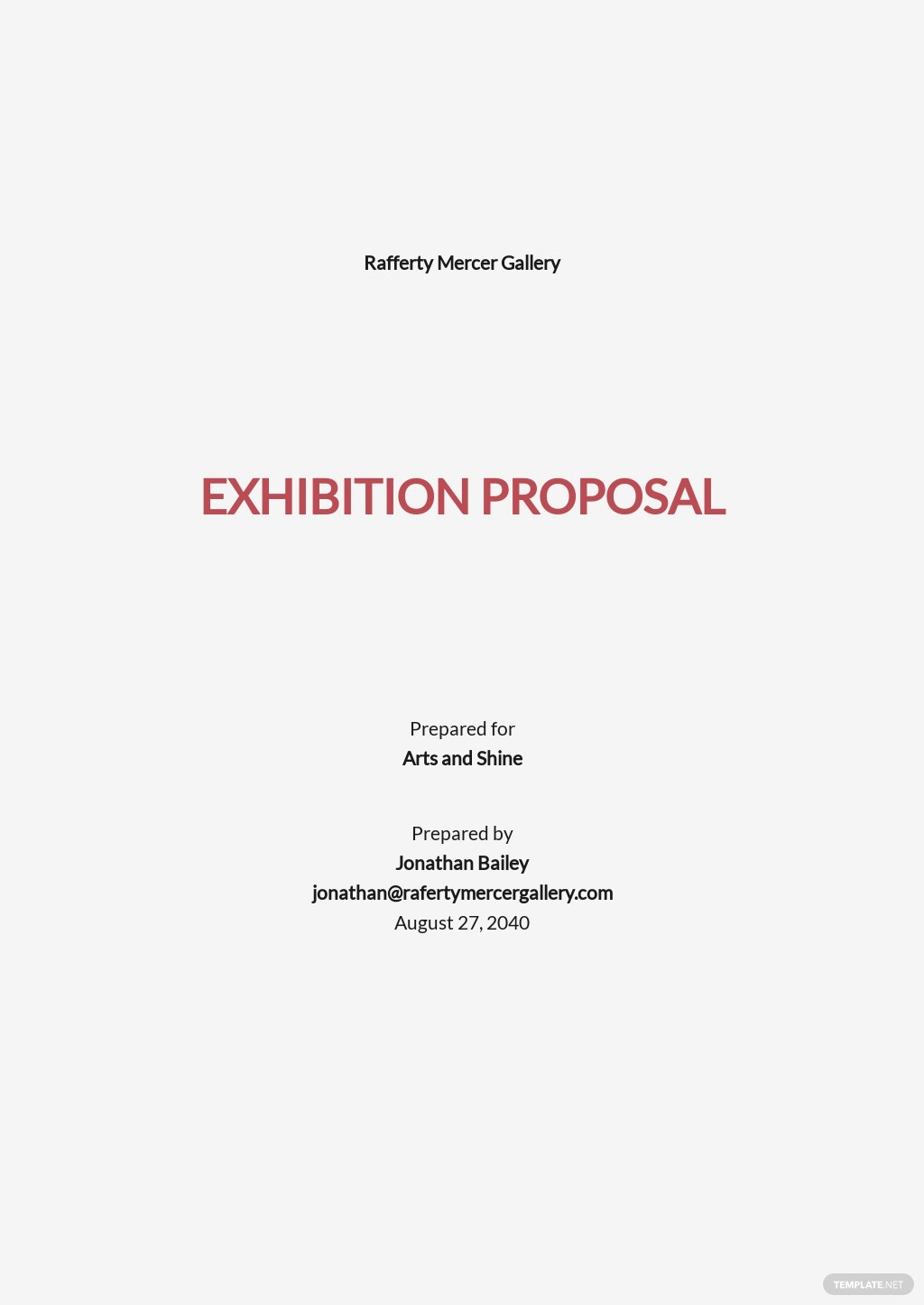 Exhibition Proposal Outline Template.jpe