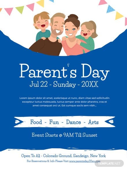 Parent's Day Poster