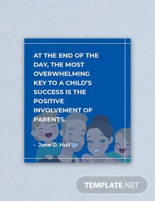Free Parent's Day Quote