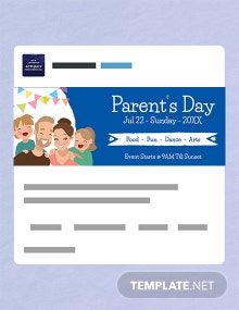Free Parent's Day Tumblr Banner