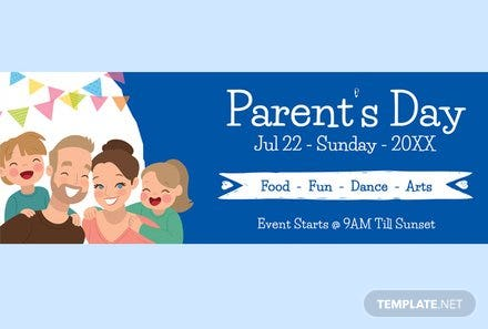 Parent's Day Tumblr Banner