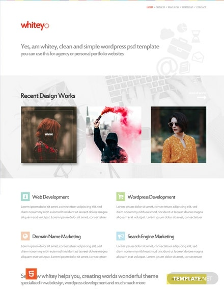 Free Web Design Company HTML5/CSS3 Website Template