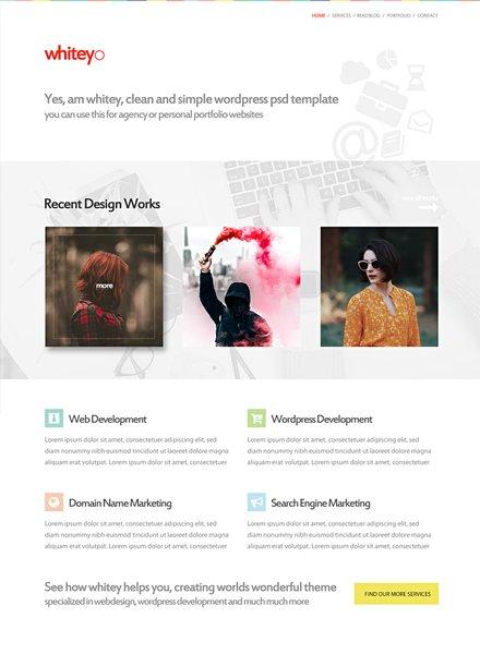Web Design Company HTML5/CSS3 Website Template