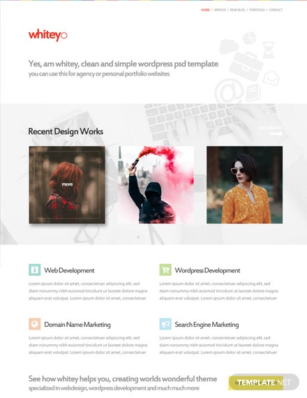 Web Design Company HTML5/CSS3 Website Template