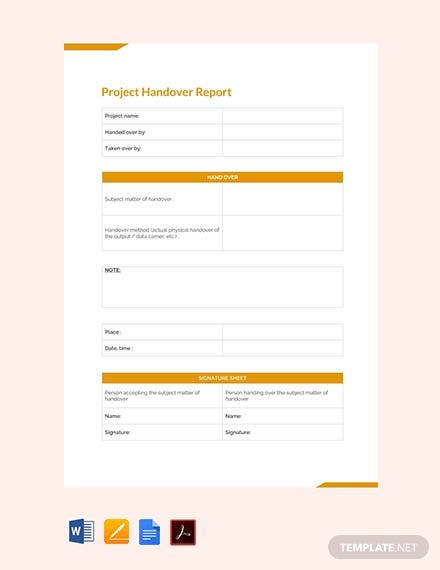 Free Final Project Handover Report