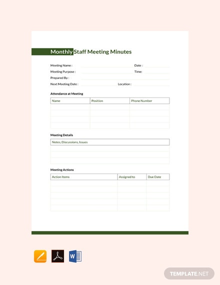 free sample meeting minutes template download 65 meeting minutes