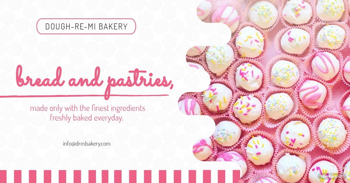 Bakery Facebook Ad Template