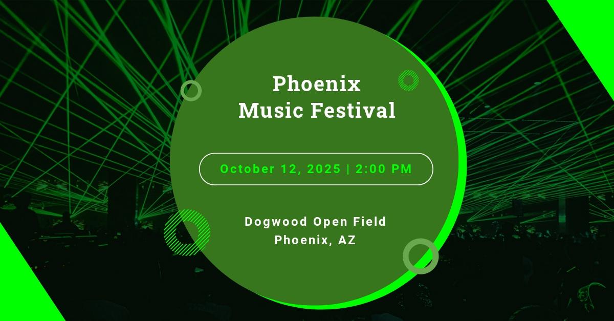 Music Event Facebook Ad Template