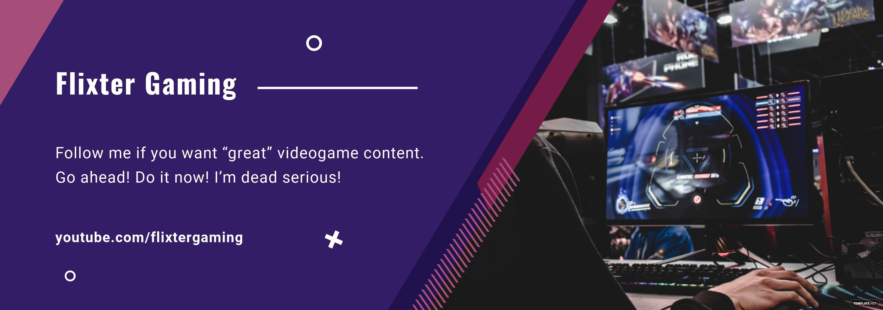 Gaming Tumblr Banner Template
