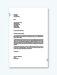 Student Scholarship Recommendation Letter