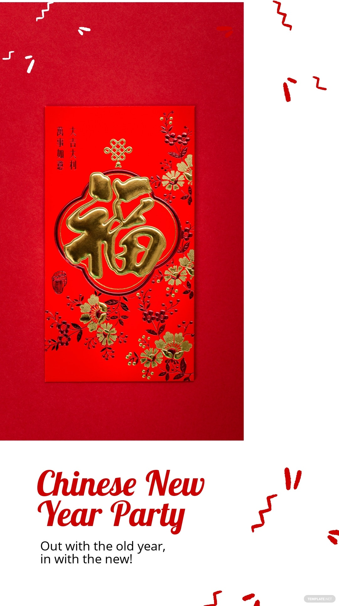 Chinese New Year Party Instagram Story Template 3.jpe