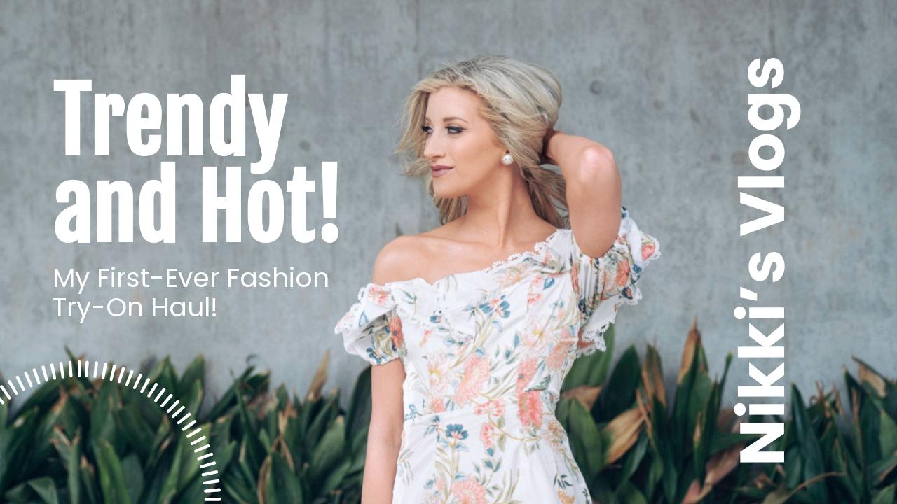 Fashion Youtube Thumbnail Template