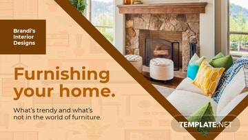 Furniture Trends Youtube Thumbnail Template