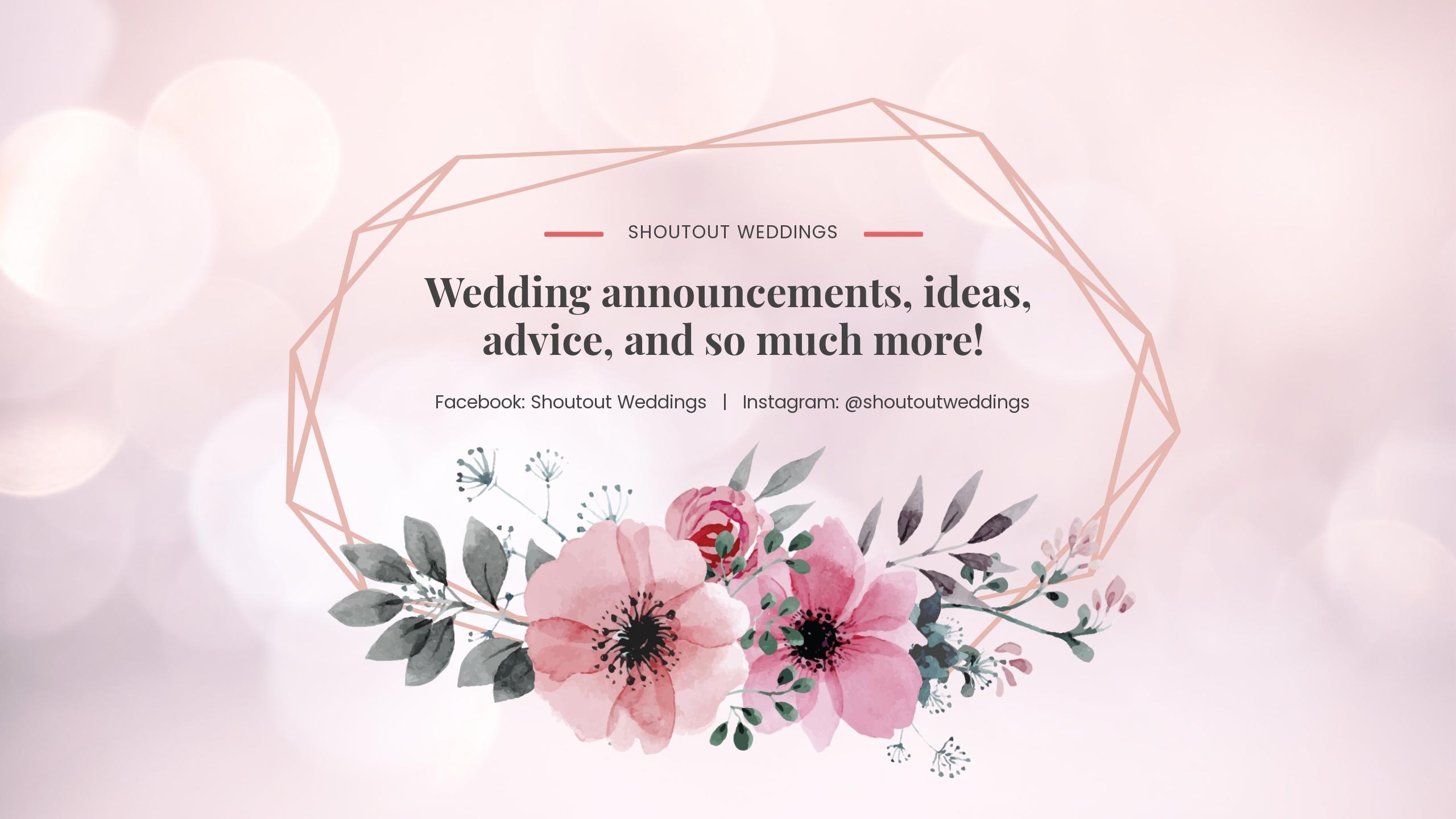 Wedding Announcement Youtube Channel Art.jpe