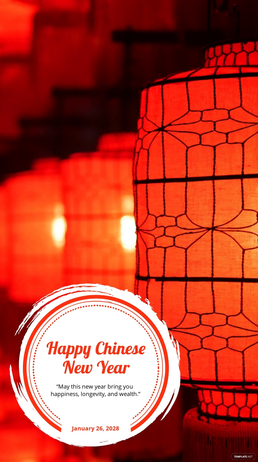 Chinese New Year Quote Instagram Story Template.jpe