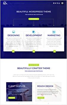Blu Agency HTML5/CSS3 Website Template