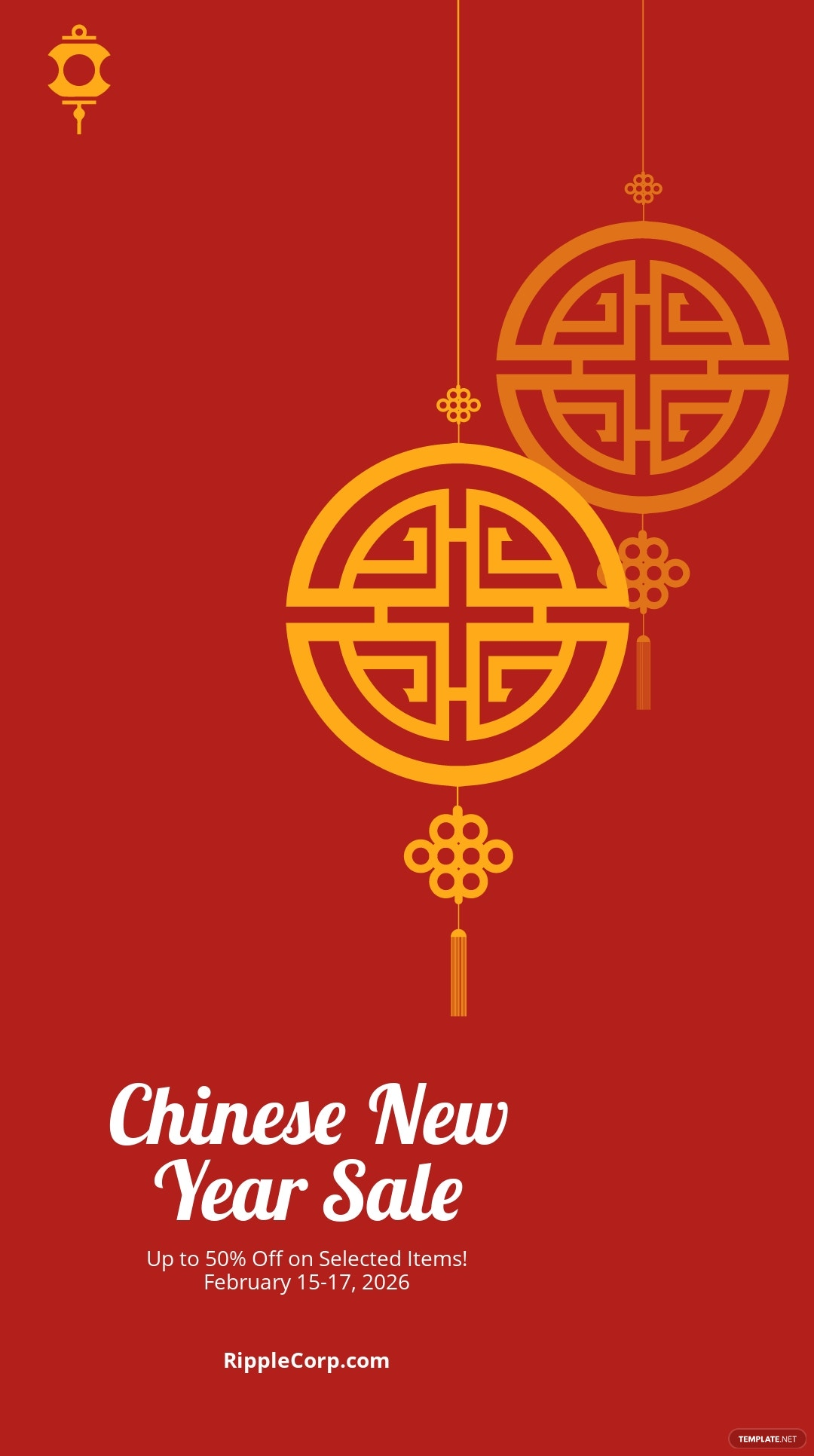 Chinese New Year Sale Instagram Story Template.jpe