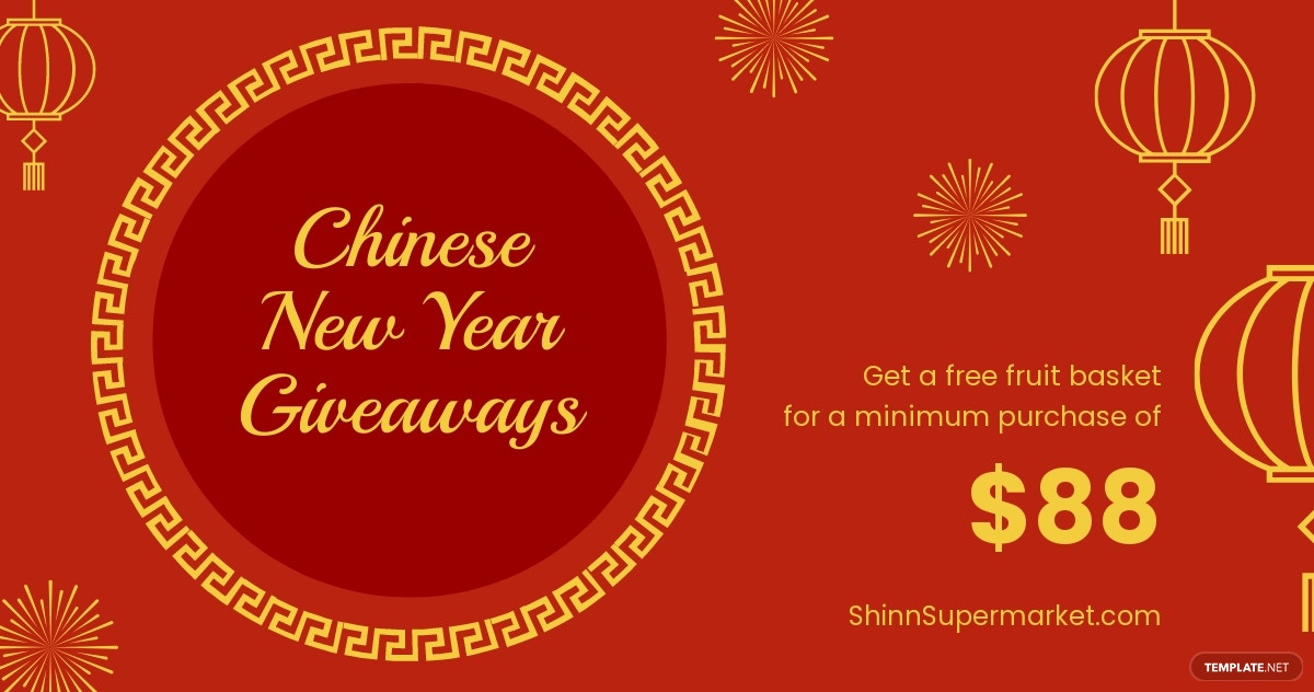 Chinese New Year Giveaway Facebook Post Template.jpe