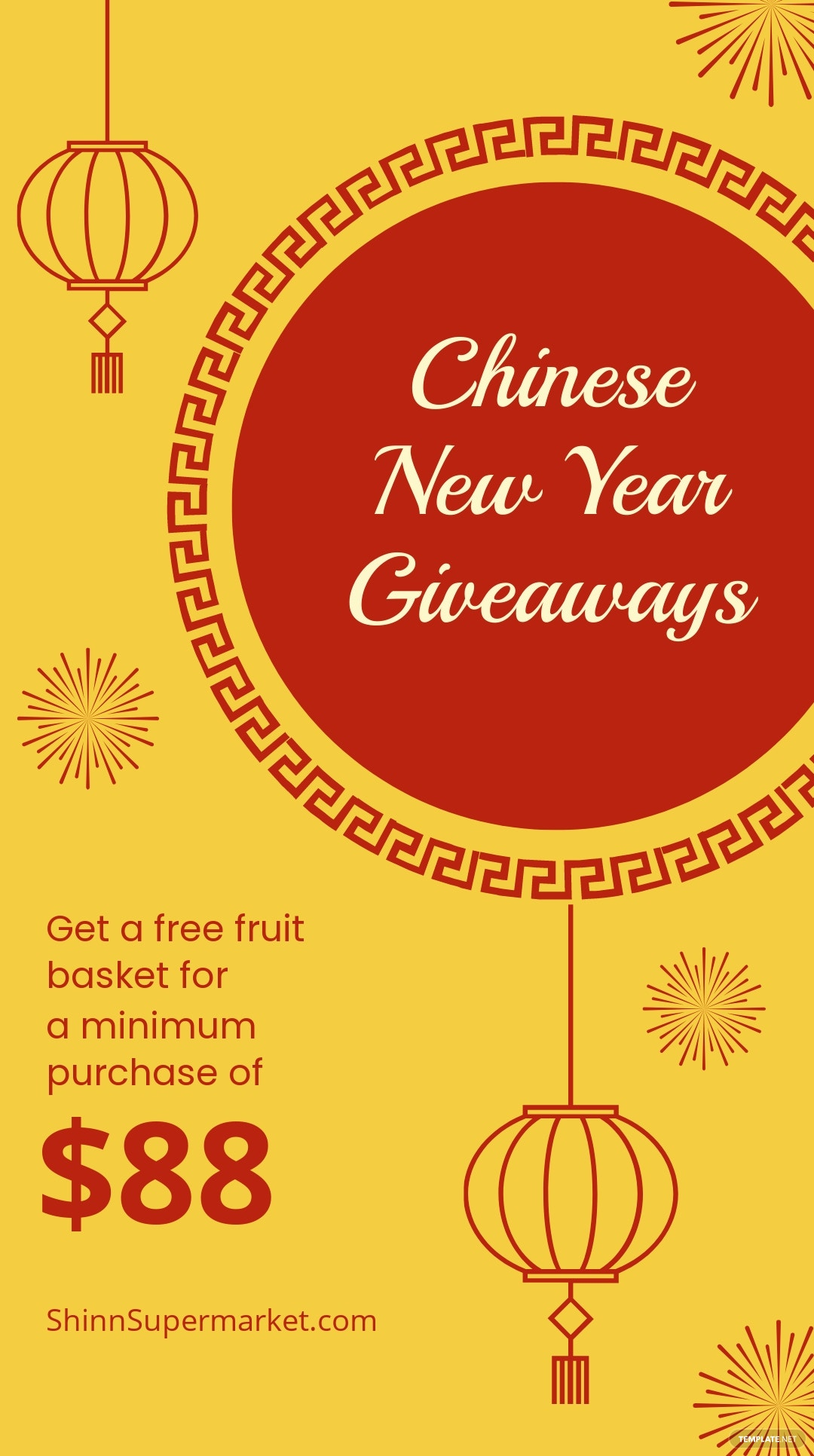 Chinese New Year Giveaway Instagram Story Template 4.jpe