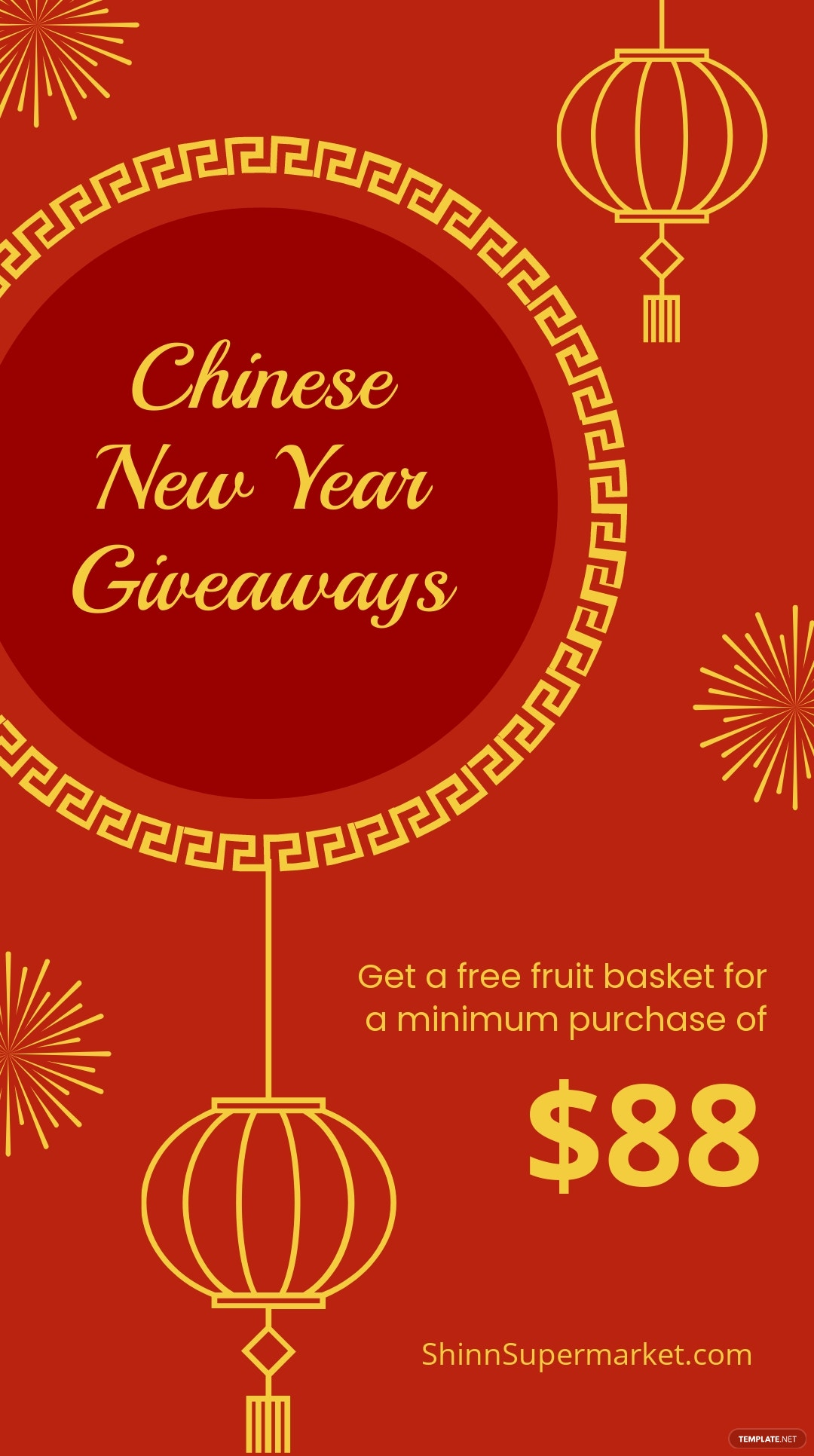 Chinese New Year Giveaway Instagram Story Template.jpe
