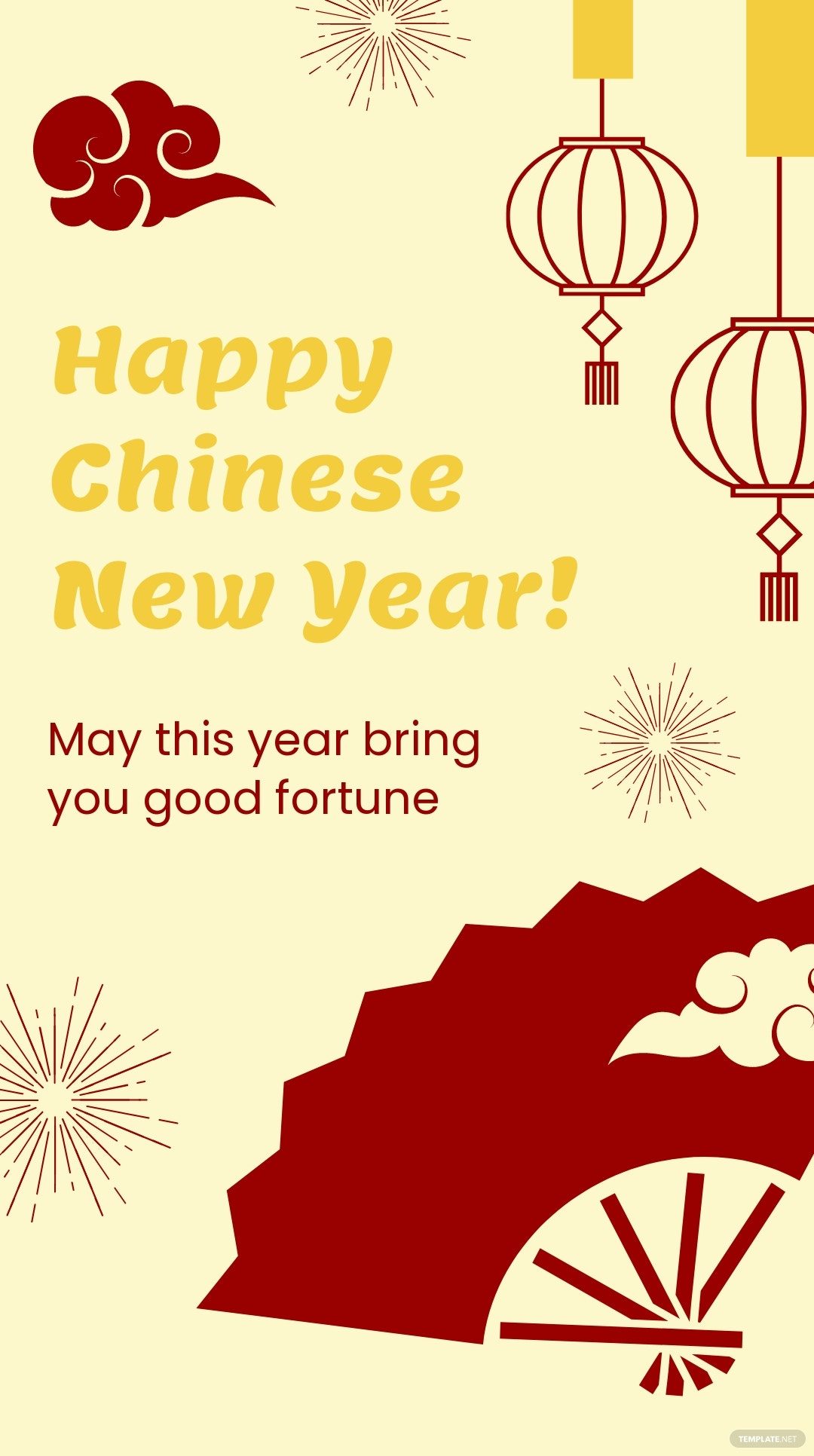 Chinese New Year Greeting Instagram Story Template.jpe