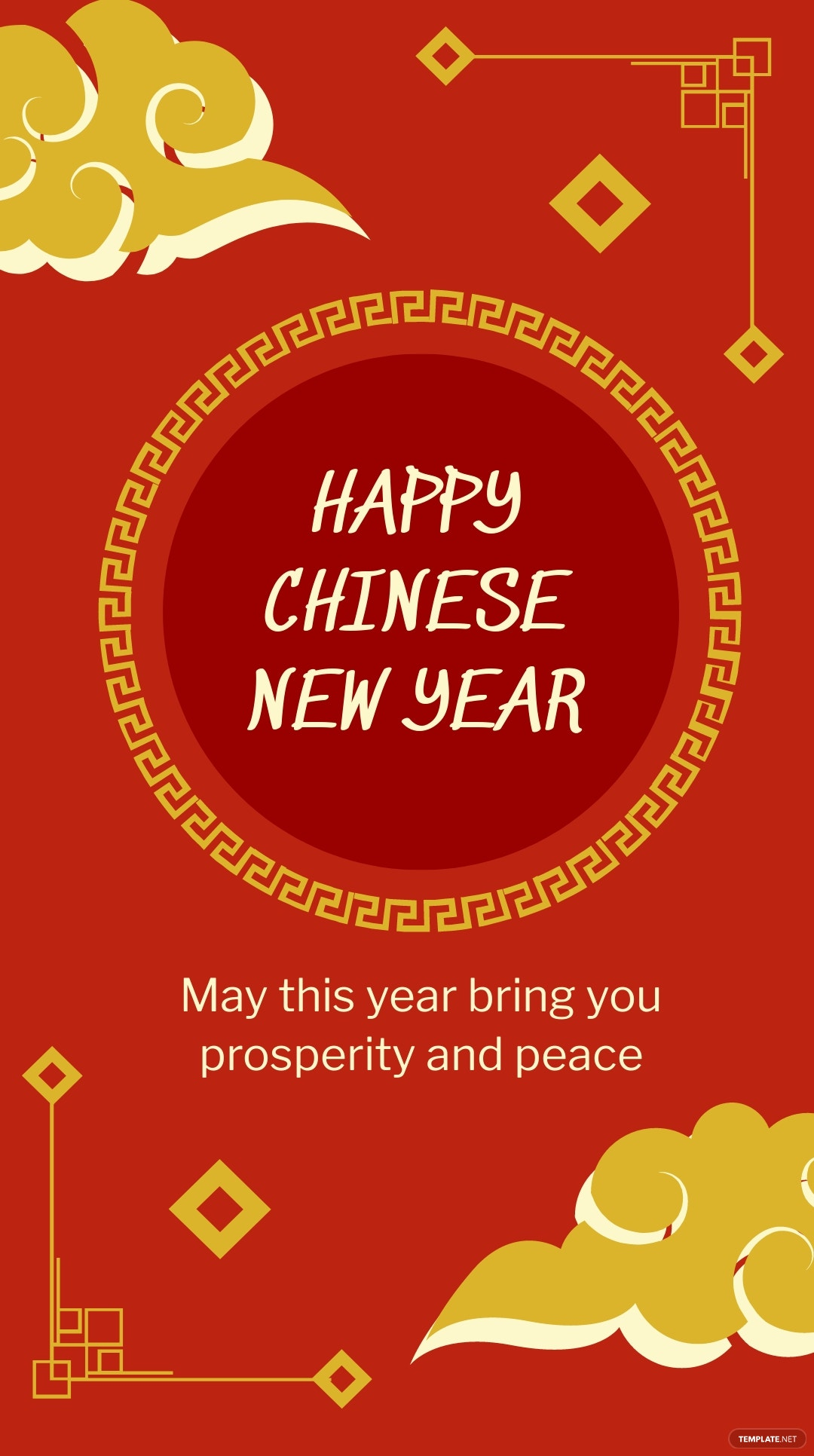 Vintage Chinese New Year Instagram Story Template.jpe