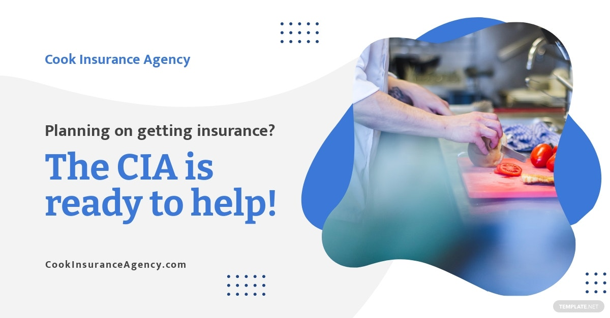 Insurance Services Linkedin Single Image Ad Template