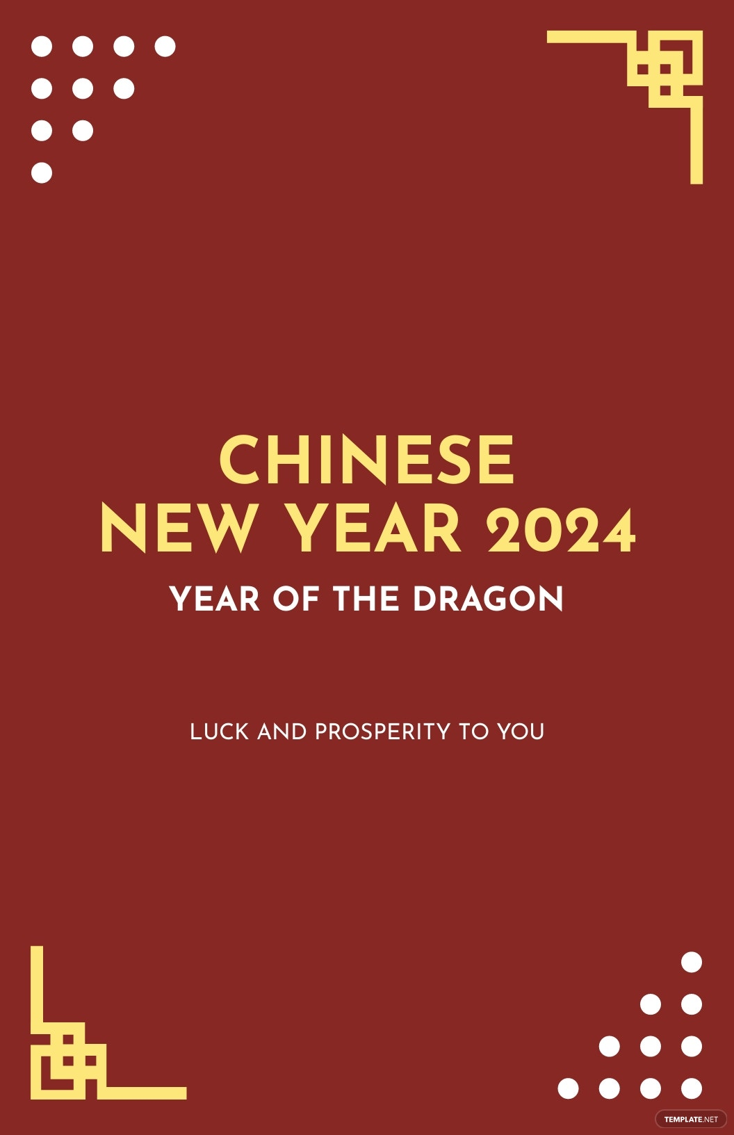 Modern Chinese New Year Poster Template.jpe