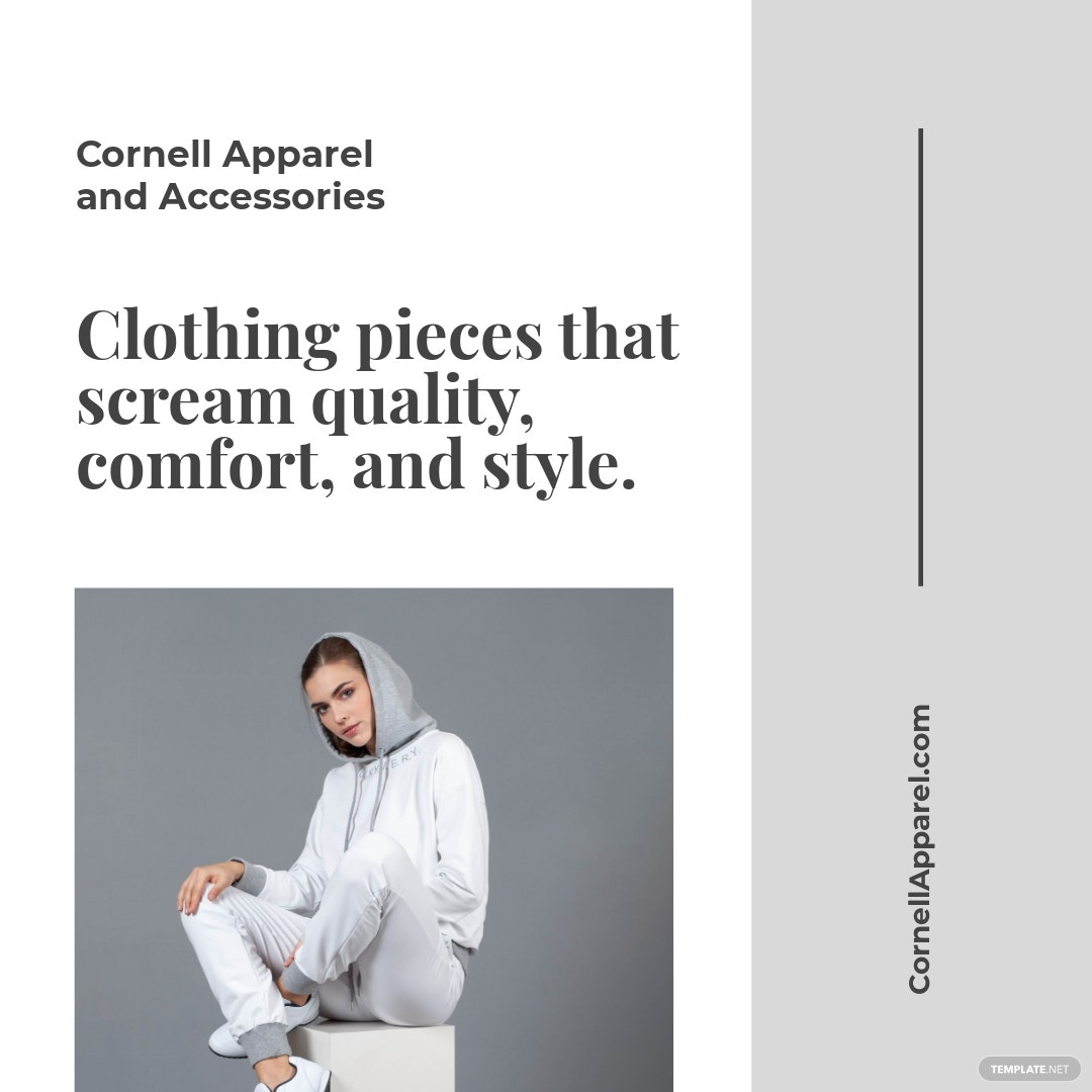 Clothing Store Instagram Ad Template
