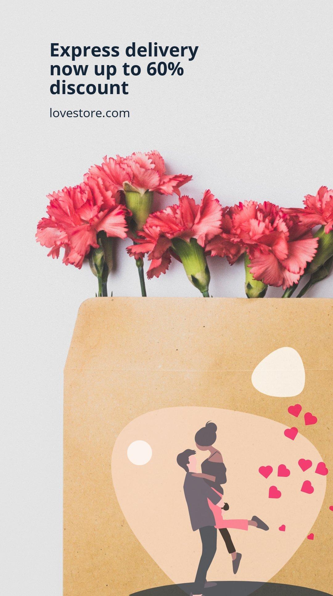 Valentine's Day Sale Instagram Story Template 4.jpe