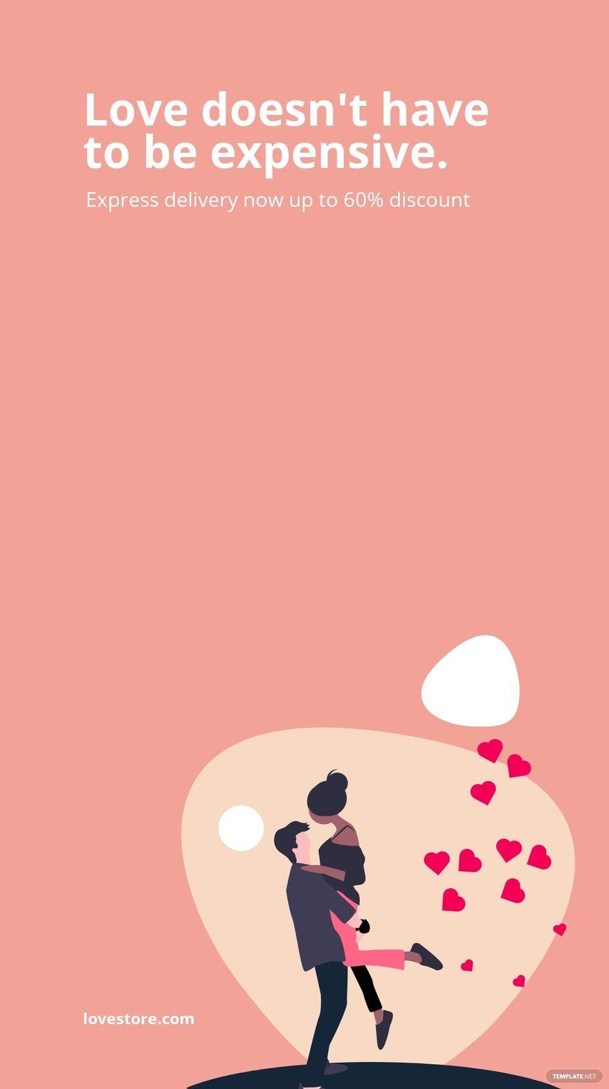 Valentine's Day Sale Instagram Story Template.jpe